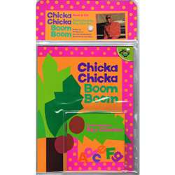 Chicka Chicka Boom Boom Carry Along Book & Cd By Ingram Book Distributor