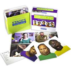 Language Builder Emotion Cards By Stages Learning Materials