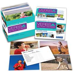 Lang Builder Picture Cards Verbs, SLM011
