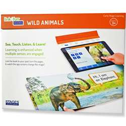 Link4Fun Wild Animals Book, SLM1001