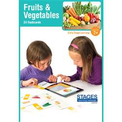 Link4Fun Fruits/Veggies Cards, SLM1521