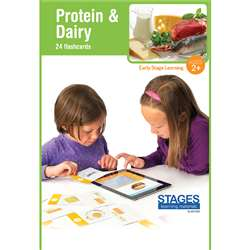 Link4Fun Protein/Dairy Cards, SLM1522