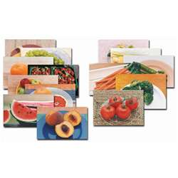 Fruits & Vegetables Poster Set-14 Of 14 By Stages Learning Materials