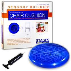 Active Attention Chair Cushion Blue Sensory Builde, SLM2101