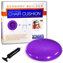 Active Attention Chair Cushion Prpl Sensory Builde, SLM2103