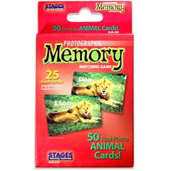 Animals Photographic Memory Matching Game, SLM220