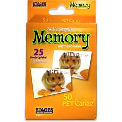 Pets Photographic Memory Matching Game By Stages Learning Materials