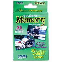 Careers Photographic Memory Matching Game, SLM229