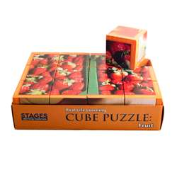 Fruits Cube Puzzle By Stages Learning Materials