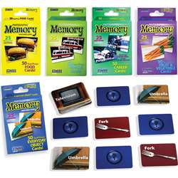 Basic Memory Game Set Of 5, SLM978