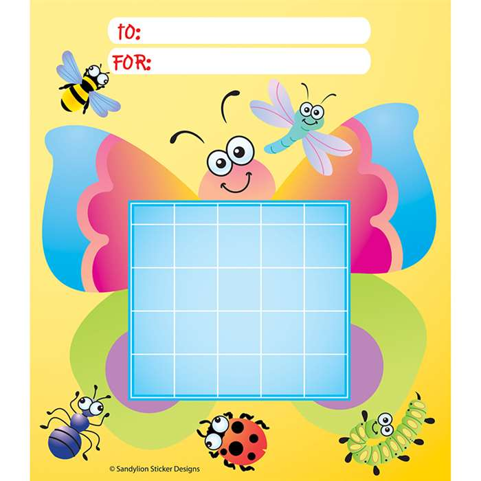 Incentive Chart Pad Bugs By Silver Lead / Sandylion Products