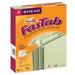 Smead Erasable Fastab Hanging Folders, SMD64032