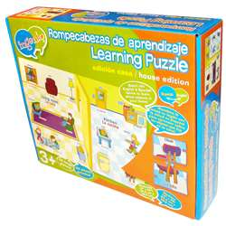 At Home Bilingual Learning Puzzle By Smart Play
