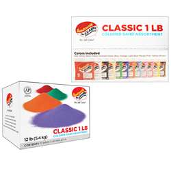 Classic Colored Sand Assortment 1 Sandtastik, SNDCLSPK121