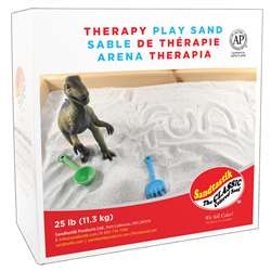 Sandtastik Therapy Play Sand 25Lb, SNDTHERAPY25