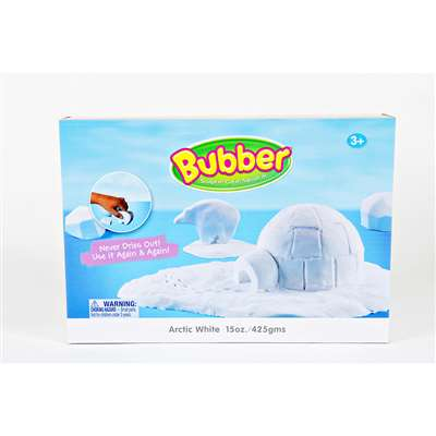 Bubber 15 Oz Big Box White Lightweight Modeling Compound By Waba Fun