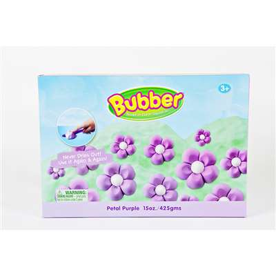 Bubber 15 Oz Big Box Purple Lightweight Modeling Compound By Waba Fun