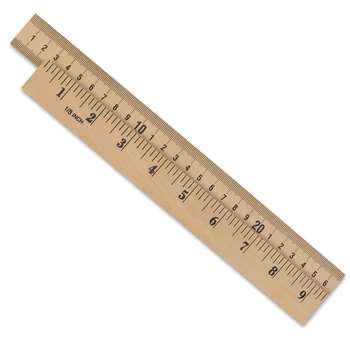 Wooden Meter Stick Plain Ends By Learning Resources