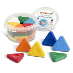 Primo Triangle Crayons 30Pc Tub, STW0771TR