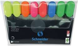 Highlighters Chisel Tip 8 Pack 6 Clrs Schneider Jo, STW115088