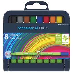 Linkit 4Mm Fn Liner Pen 8 Colors Schneider, STW191298