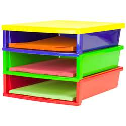 Quick Stack Construction Paper Organizer, STX61640E01C