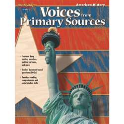 Voices From Primary Sources American History By Harcourt School Supply