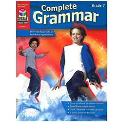 Complete Grammar Grade 7 By Harcourt School Supply