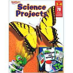 Science Projects Grades 3-4 By Harcourt School Supply