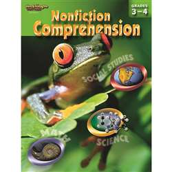 Nonfiction Comprehension Gr 3-4 By Harcourt School Supply
