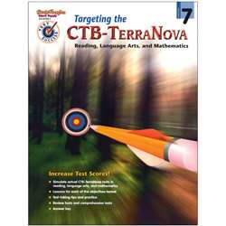 Test Success Targeting The Ctb/ Terranova Gr 7 By Harcourt School Supply