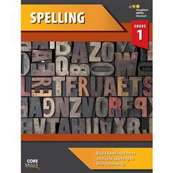 Shop Core Skills Spelling Gr 1 Workbook - Sv-9780544267787 By Houghton Mifflin