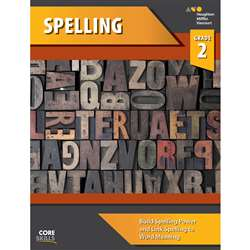 Shop Core Skills Spelling Gr 2 Workbook - Sv-9780544267794 By Houghton Mifflin