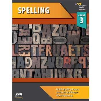 Shop Core Skills Spelling Gr 3 Workbook - Sv-9780544267800 By Houghton Mifflin