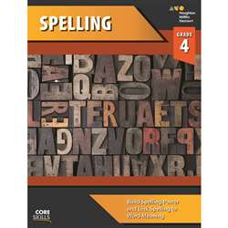 Shop Core Skills Spelling Gr 4 Workbook - Sv-9780544267817 By Houghton Mifflin