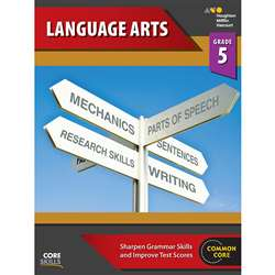 Core Skills Language Arts Grade 5, SV-9780544267886