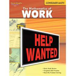 The Mathematics Of Work Gr 6 & Up By Houghton Mifflin