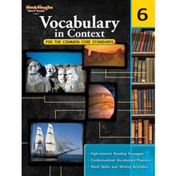 Gr 6 Vocabulary In Context For The Common Core Standards By Houghton Mifflin