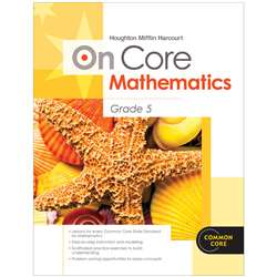 On Core Mathematics Bundles Gr 5 By Houghton Mifflin
