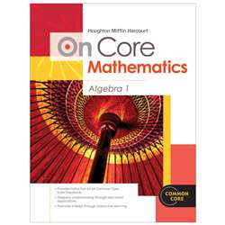 On Core Mathematics Algebra 1 Bundles By Houghton Mifflin