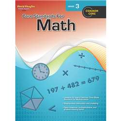 Core Standards For Math Gr 3 By Houghton Mifflin