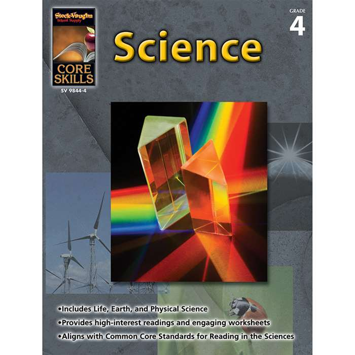 Core Skills Science Gr 4 - Sv-9781419098444 By Steck Vaughn