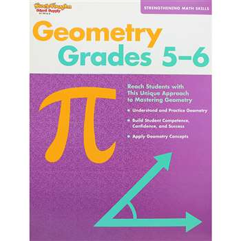 Strengthening Math Skills Geometry Gr 5-6 By Harcourt School Supply