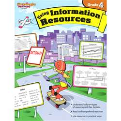Using Information Resources Gr 4 By Harcourt School Supply