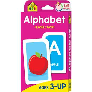 Alphabet Flash Cards By School Zone Publishing