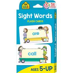 Beginning Sight Words Flash Cards By School Zone Publishing