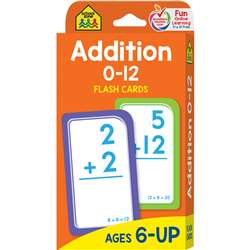 Addition 0-12 Flash Cards By School Zone Publishing