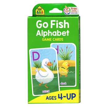 Go Fish Game Cards By School Zone Publishing
