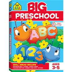 Big Preschool Workbook By School Zone Publishing