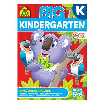 Big Kindergarten Workbook By School Zone Publishing